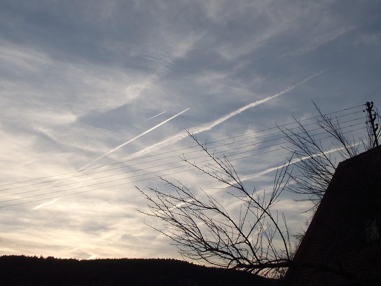 Himmel über dem Spessart