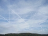 Himmel über dem Spessart am 07.07.2011, 7.00 Uhr