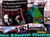 Erdbebenkarte-Europa
