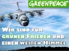 Sauberer Himmel Chemtrails Greenpeace 1