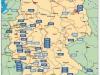 Sauberer Himmel Chemtrails Regenwasser Deutschlandkarte-Barium