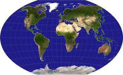 Sauberer Himmel weltweit