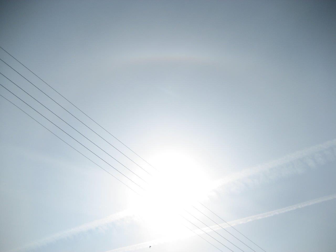 Chemtrails & HAARP haben Himmel und Wetter auf den Kopf gestellt ...